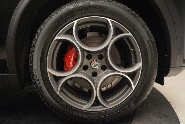 New 2018 Alfa Romeo Stelvio Sport Q4 for sale Sold at Bugatti of Greenwich in Greenwich CT 06830 25