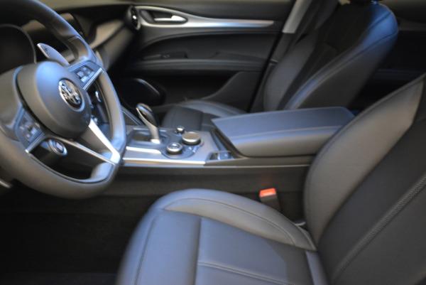 New 2018 Alfa Romeo Stelvio Sport Q4 for sale Sold at Bugatti of Greenwich in Greenwich CT 06830 14