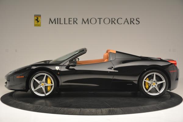 Used 2015 Ferrari 458 Spider for sale Sold at Bugatti of Greenwich in Greenwich CT 06830 3