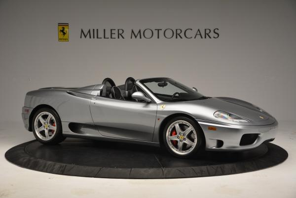 Used 2004 Ferrari 360 Spider 6-Speed Manual for sale Sold at Bugatti of Greenwich in Greenwich CT 06830 10