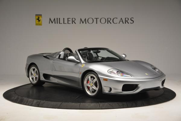 Used 2004 Ferrari 360 Spider 6-Speed Manual for sale Sold at Bugatti of Greenwich in Greenwich CT 06830 11