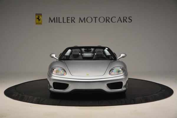 Used 2004 Ferrari 360 Spider 6-Speed Manual for sale Sold at Bugatti of Greenwich in Greenwich CT 06830 12