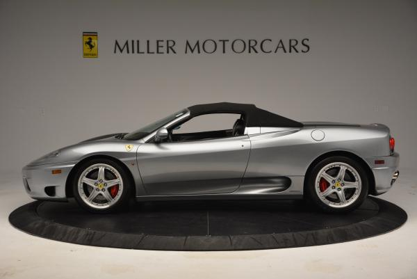 Used 2004 Ferrari 360 Spider 6-Speed Manual for sale Sold at Bugatti of Greenwich in Greenwich CT 06830 15