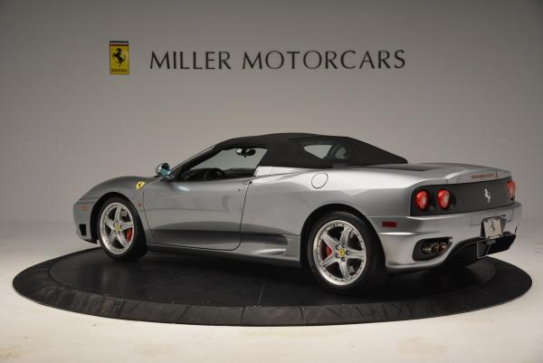 Used 2004 Ferrari 360 Spider 6-Speed Manual for sale Sold at Bugatti of Greenwich in Greenwich CT 06830 16
