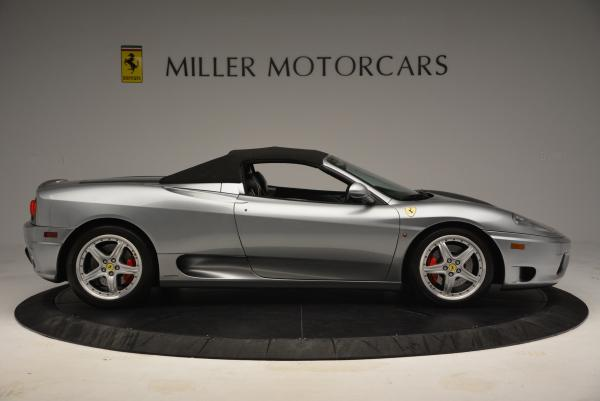 Used 2004 Ferrari 360 Spider 6-Speed Manual for sale Sold at Bugatti of Greenwich in Greenwich CT 06830 21