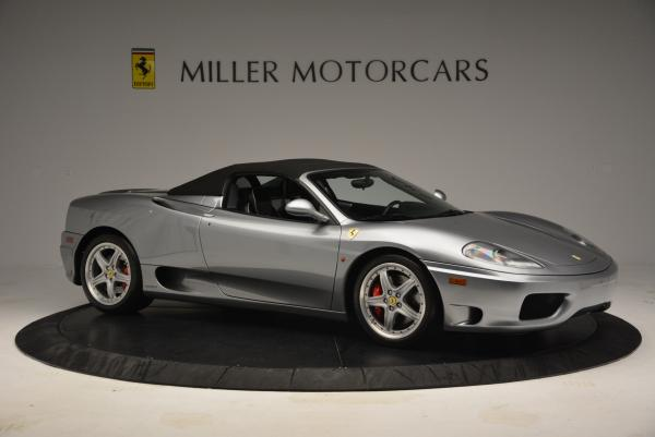 Used 2004 Ferrari 360 Spider 6-Speed Manual for sale Sold at Bugatti of Greenwich in Greenwich CT 06830 22