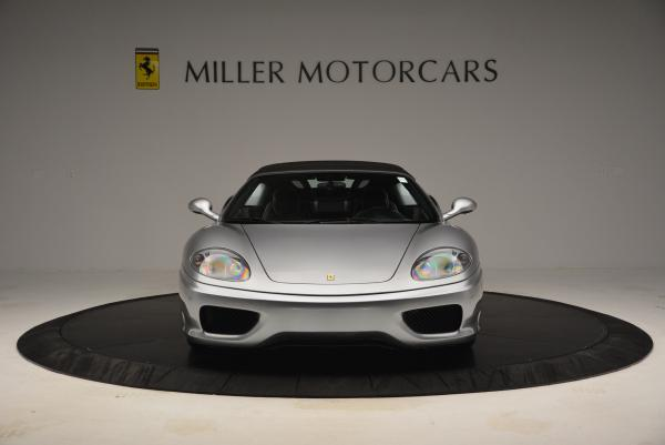 Used 2004 Ferrari 360 Spider 6-Speed Manual for sale Sold at Bugatti of Greenwich in Greenwich CT 06830 24