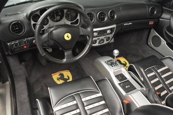Used 2004 Ferrari 360 Spider 6-Speed Manual for sale Sold at Bugatti of Greenwich in Greenwich CT 06830 25