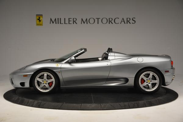 Used 2004 Ferrari 360 Spider 6-Speed Manual for sale Sold at Bugatti of Greenwich in Greenwich CT 06830 3