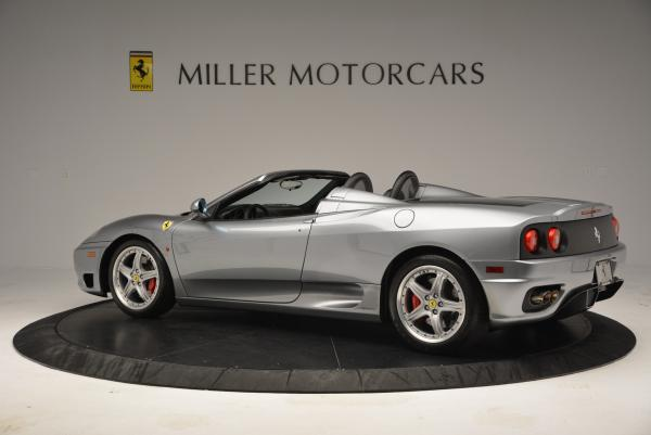 Used 2004 Ferrari 360 Spider 6-Speed Manual for sale Sold at Bugatti of Greenwich in Greenwich CT 06830 4