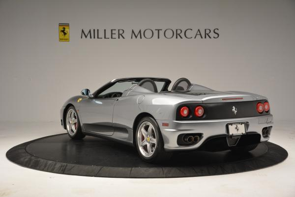 Used 2004 Ferrari 360 Spider 6-Speed Manual for sale Sold at Bugatti of Greenwich in Greenwich CT 06830 5
