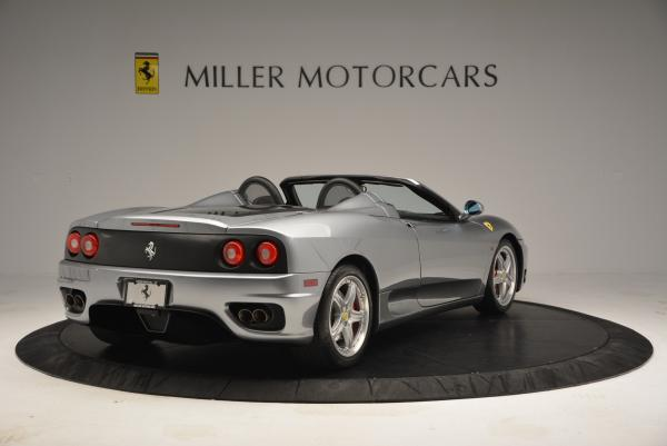 Used 2004 Ferrari 360 Spider 6-Speed Manual for sale Sold at Bugatti of Greenwich in Greenwich CT 06830 7