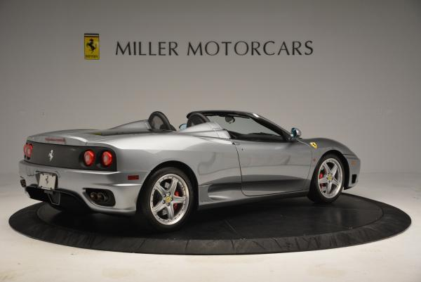 Used 2004 Ferrari 360 Spider 6-Speed Manual for sale Sold at Bugatti of Greenwich in Greenwich CT 06830 8