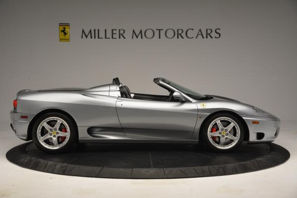 Used 2004 Ferrari 360 Spider 6-Speed Manual for sale Sold at Bugatti of Greenwich in Greenwich CT 06830 9
