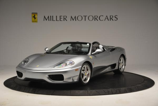 Used 2004 Ferrari 360 Spider 6-Speed Manual for sale Sold at Bugatti of Greenwich in Greenwich CT 06830 1