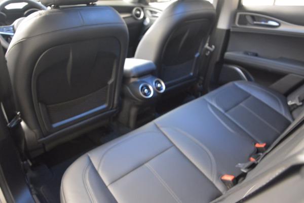 New 2018 Alfa Romeo Stelvio Ti Q4 for sale Sold at Bugatti of Greenwich in Greenwich CT 06830 24