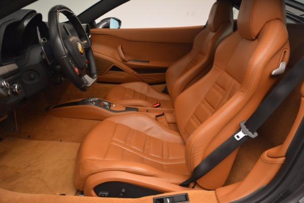Used 2011 Ferrari 458 Italia for sale Sold at Bugatti of Greenwich in Greenwich CT 06830 14