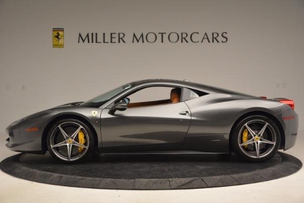 Used 2011 Ferrari 458 Italia for sale Sold at Bugatti of Greenwich in Greenwich CT 06830 3