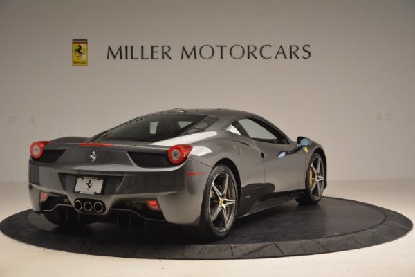 Used 2011 Ferrari 458 Italia for sale Sold at Bugatti of Greenwich in Greenwich CT 06830 7