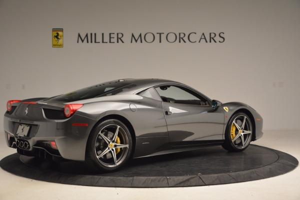 Used 2011 Ferrari 458 Italia for sale Sold at Bugatti of Greenwich in Greenwich CT 06830 8