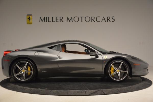Used 2011 Ferrari 458 Italia for sale Sold at Bugatti of Greenwich in Greenwich CT 06830 9