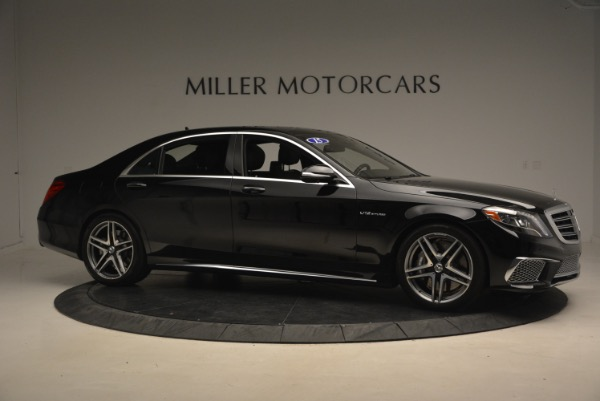 Used 2015 Mercedes-Benz S-Class S 65 AMG for sale Sold at Bugatti of Greenwich in Greenwich CT 06830 10