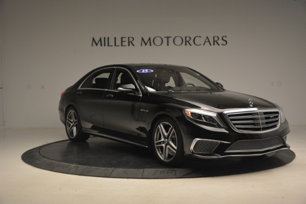 Used 2015 Mercedes-Benz S-Class S 65 AMG for sale Sold at Bugatti of Greenwich in Greenwich CT 06830 11