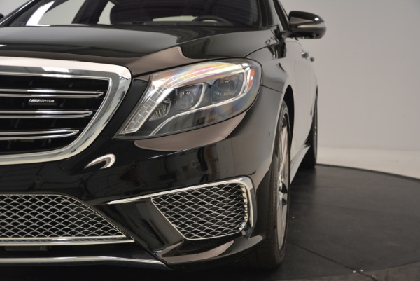 Used 2015 Mercedes-Benz S-Class S 65 AMG for sale Sold at Bugatti of Greenwich in Greenwich CT 06830 16