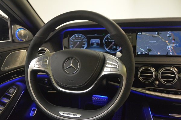 Used 2015 Mercedes-Benz S-Class S 65 AMG for sale Sold at Bugatti of Greenwich in Greenwich CT 06830 24