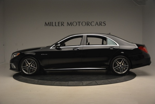 Used 2015 Mercedes-Benz S-Class S 65 AMG for sale Sold at Bugatti of Greenwich in Greenwich CT 06830 3