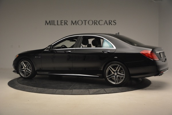 Used 2015 Mercedes-Benz S-Class S 65 AMG for sale Sold at Bugatti of Greenwich in Greenwich CT 06830 4