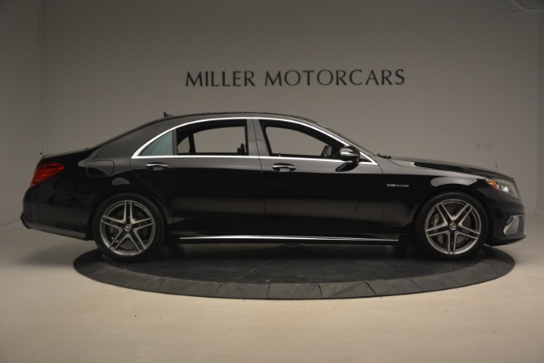 Used 2015 Mercedes-Benz S-Class S 65 AMG for sale Sold at Bugatti of Greenwich in Greenwich CT 06830 9