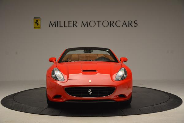 Used 2011 Ferrari California for sale Sold at Bugatti of Greenwich in Greenwich CT 06830 12