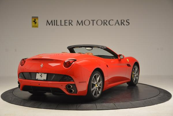 Used 2011 Ferrari California for sale Sold at Bugatti of Greenwich in Greenwich CT 06830 7