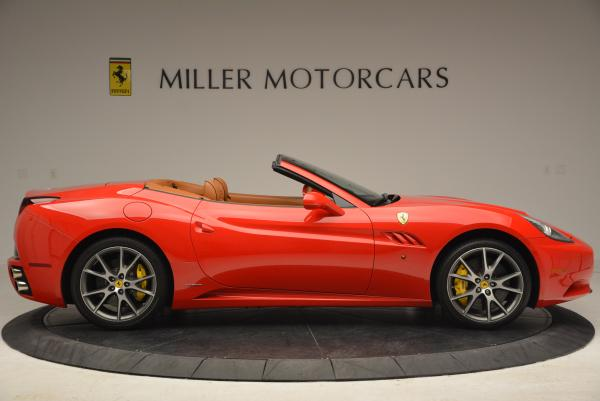 Used 2011 Ferrari California for sale Sold at Bugatti of Greenwich in Greenwich CT 06830 9