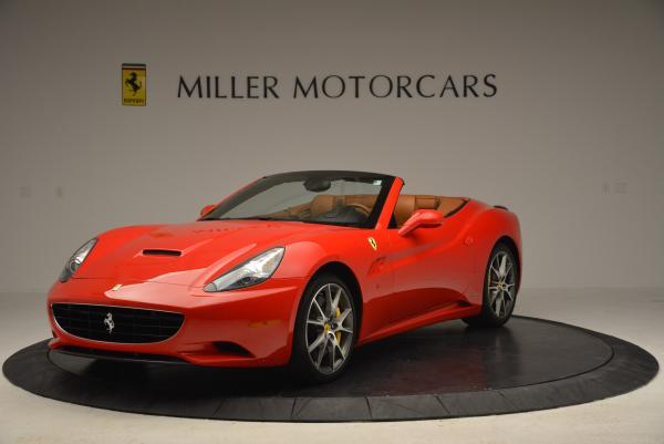 Used 2011 Ferrari California for sale Sold at Bugatti of Greenwich in Greenwich CT 06830 1
