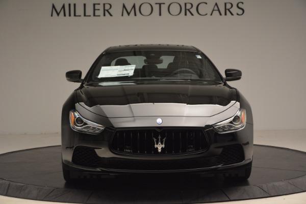 New 2017 Maserati Ghibli Nerissimo Edition S Q4 for sale Sold at Bugatti of Greenwich in Greenwich CT 06830 12
