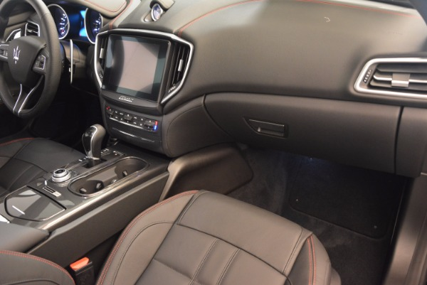 New 2017 Maserati Ghibli Nerissimo Edition S Q4 for sale Sold at Bugatti of Greenwich in Greenwich CT 06830 19