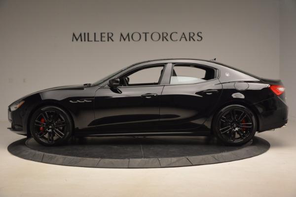 New 2017 Maserati Ghibli Nerissimo Edition S Q4 for sale Sold at Bugatti of Greenwich in Greenwich CT 06830 3