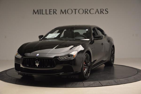New 2017 Maserati Ghibli Nerissimo Edition S Q4 for sale Sold at Bugatti of Greenwich in Greenwich CT 06830 1