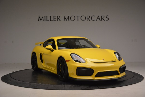Used 2016 Porsche Cayman GT4 for sale Sold at Bugatti of Greenwich in Greenwich CT 06830 11