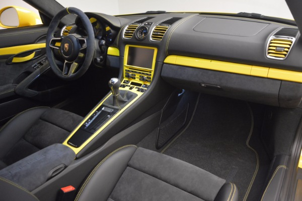 Used 2016 Porsche Cayman GT4 for sale Sold at Bugatti of Greenwich in Greenwich CT 06830 17