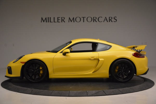 Used 2016 Porsche Cayman GT4 for sale Sold at Bugatti of Greenwich in Greenwich CT 06830 3