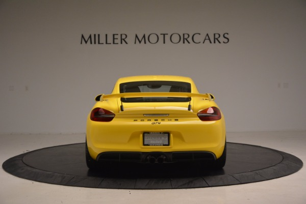 Used 2016 Porsche Cayman GT4 for sale Sold at Bugatti of Greenwich in Greenwich CT 06830 6