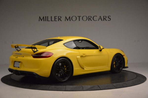 Used 2016 Porsche Cayman GT4 for sale Sold at Bugatti of Greenwich in Greenwich CT 06830 8