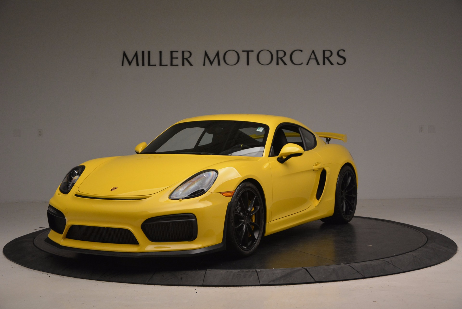 Used 2016 Porsche Cayman GT4 for sale Sold at Bugatti of Greenwich in Greenwich CT 06830 1