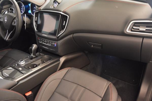 New 2017 Maserati Ghibli Nerissimo Edition S Q4 for sale Sold at Bugatti of Greenwich in Greenwich CT 06830 15