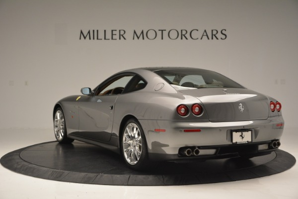 Used 2009 Ferrari 612 Scaglietti OTO for sale Sold at Bugatti of Greenwich in Greenwich CT 06830 5