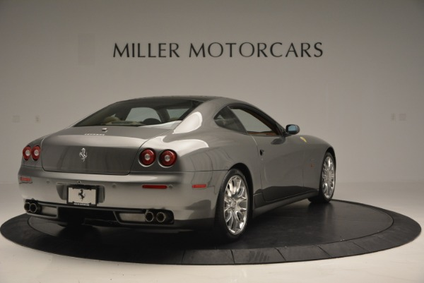 Used 2009 Ferrari 612 Scaglietti OTO for sale Sold at Bugatti of Greenwich in Greenwich CT 06830 7