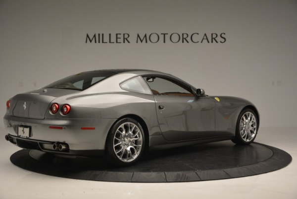 Used 2009 Ferrari 612 Scaglietti OTO for sale Sold at Bugatti of Greenwich in Greenwich CT 06830 8